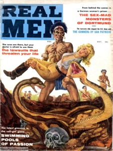 I did find this quality publication full of manly activities!
