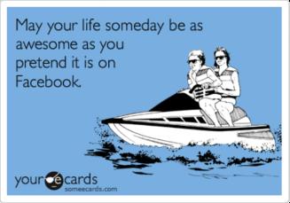 perfect-facebook-life