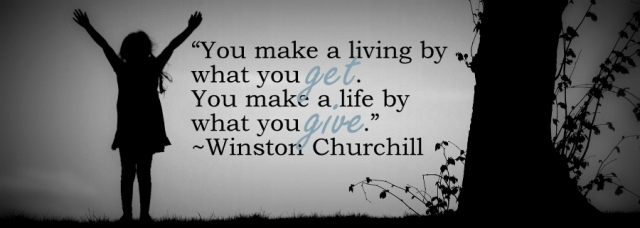 make+life+by+what+you+give
