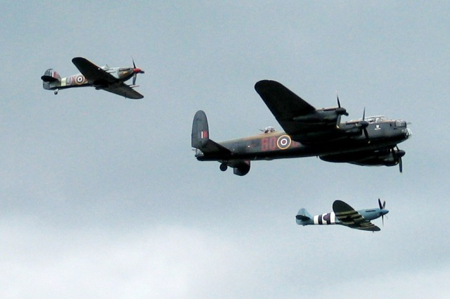 Avro_Lancaster_accompanied_by_Spitfire_and_Hurricane