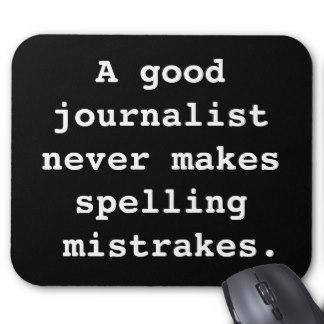 Journo Mistakes