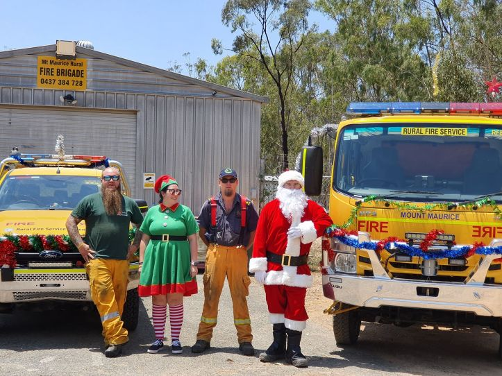 Mt Maurice Xmas Firie Santa Run 2019